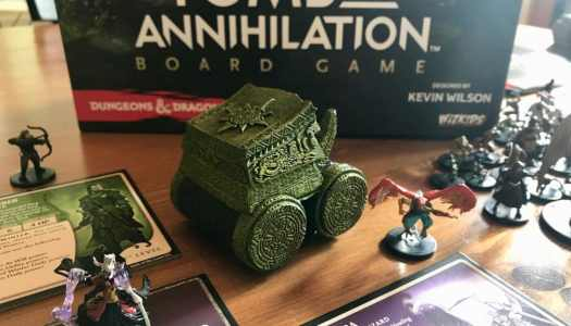 D&D in a Box: Review of the Tomb of Annihilation Board Game