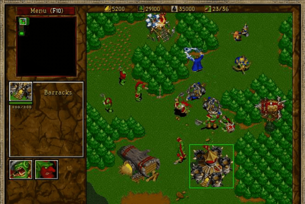 Warcraft on iOS