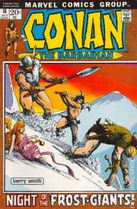 Conan the Barbarian #16 (The Frost Giant's Daughter)