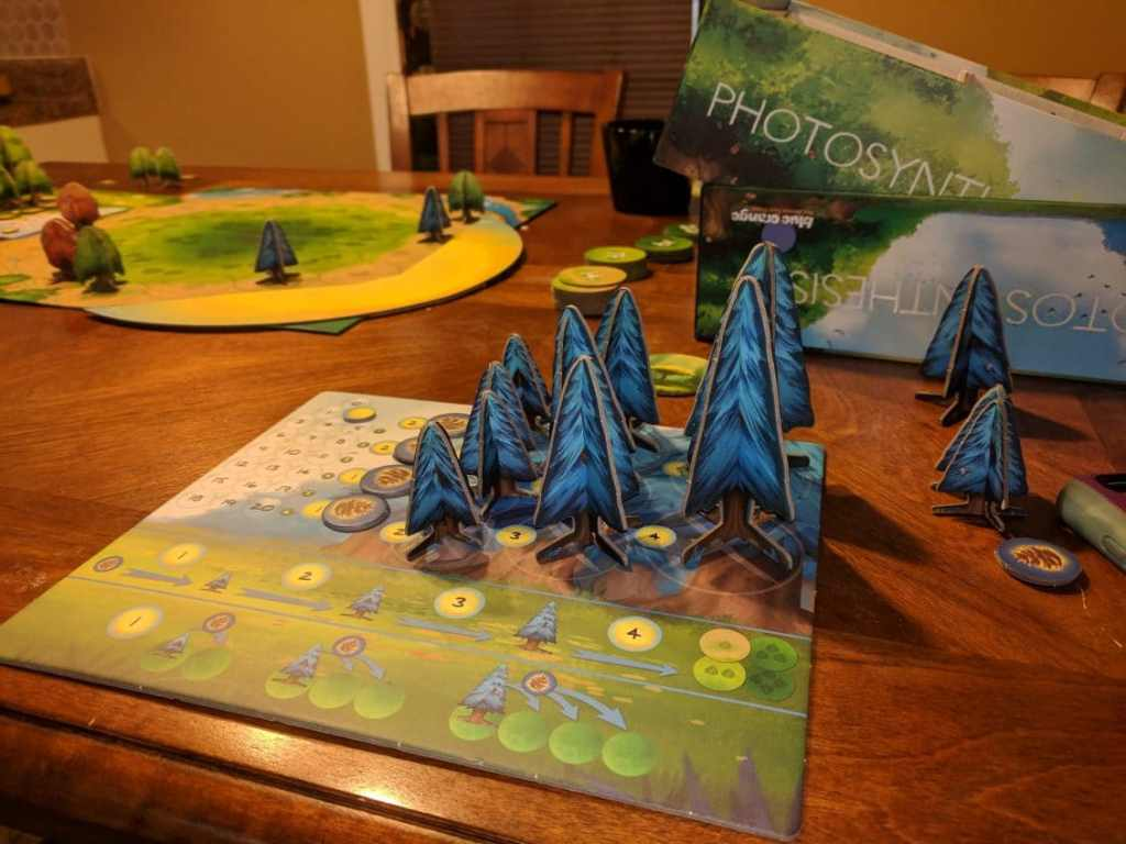 The Photosynthesis Board Game has Turned me into a Tree Hugger