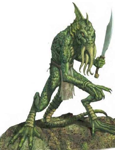Half-Illithid Lizardfolk