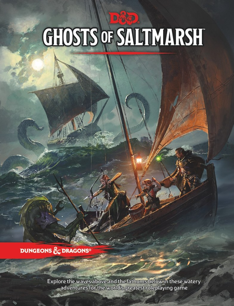 Review of Ghosts of Saltmarsh, the Latest Book for D&D 5e
