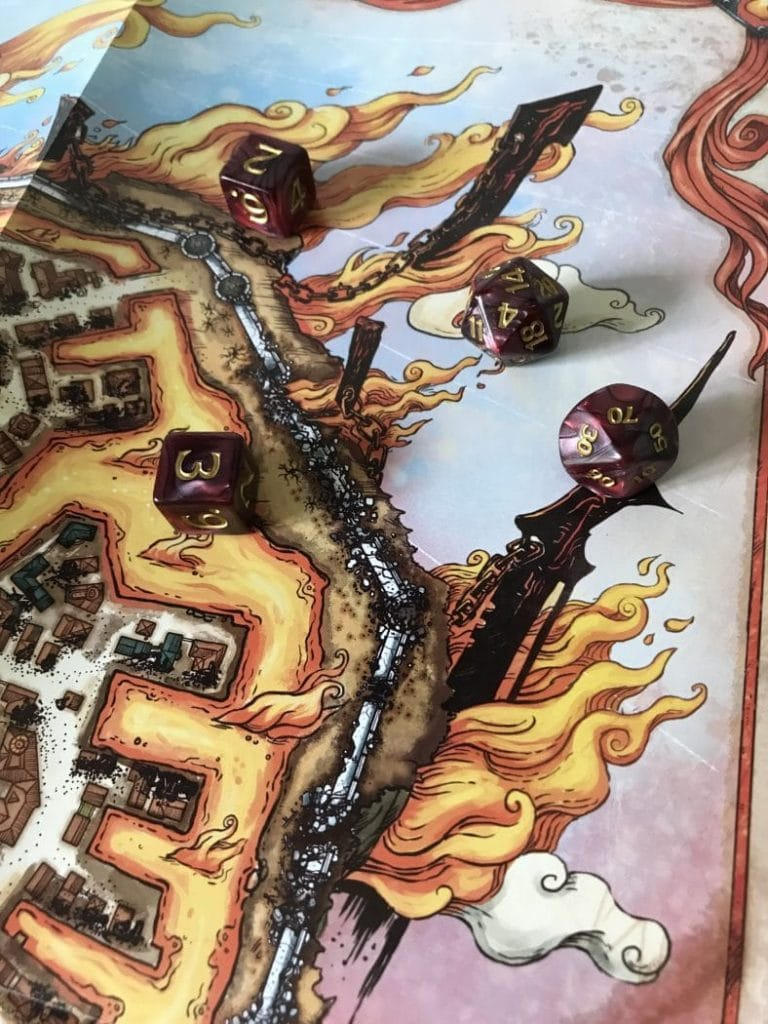 Baldur's Gate: Descent into Avernus Fold-Out Map Segment