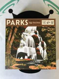 PARKS Board Game Review Box Art