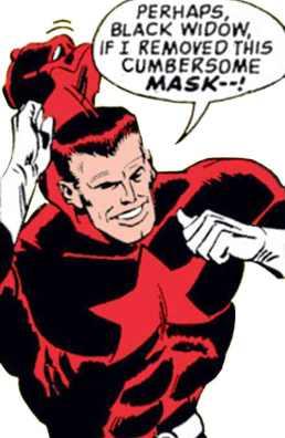 Red Guardian reveals himself as Alexi Shostakov.