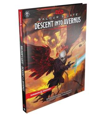 Baldurs Gate: Descent into Avernus Standard Cover