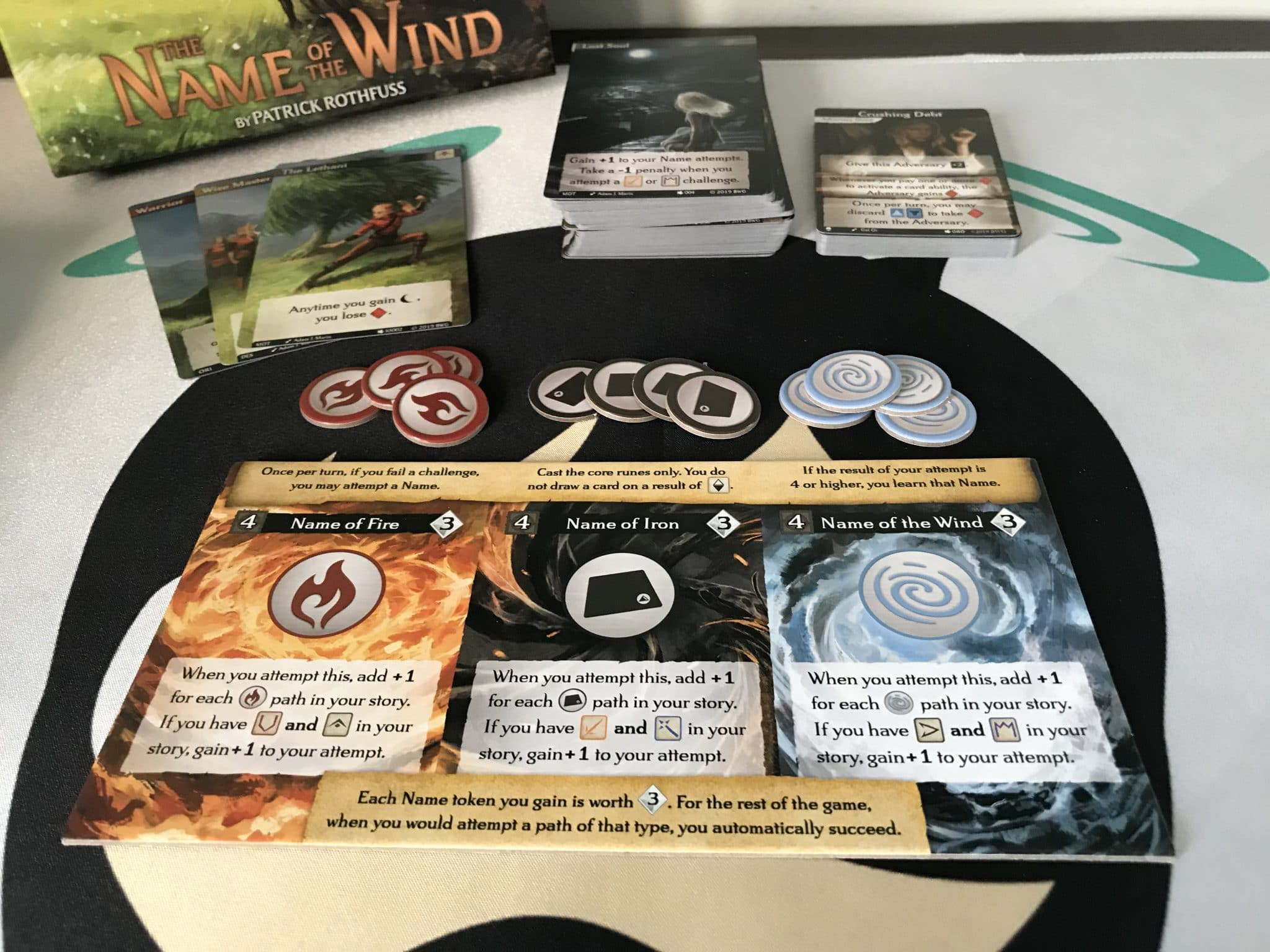 Call To Adventure Name Of The Wind Board Game Expansion Review
