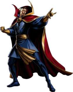 Doctor Strange Pathfinder 2E Wizard Build, as portrayed in the Marvel comics.