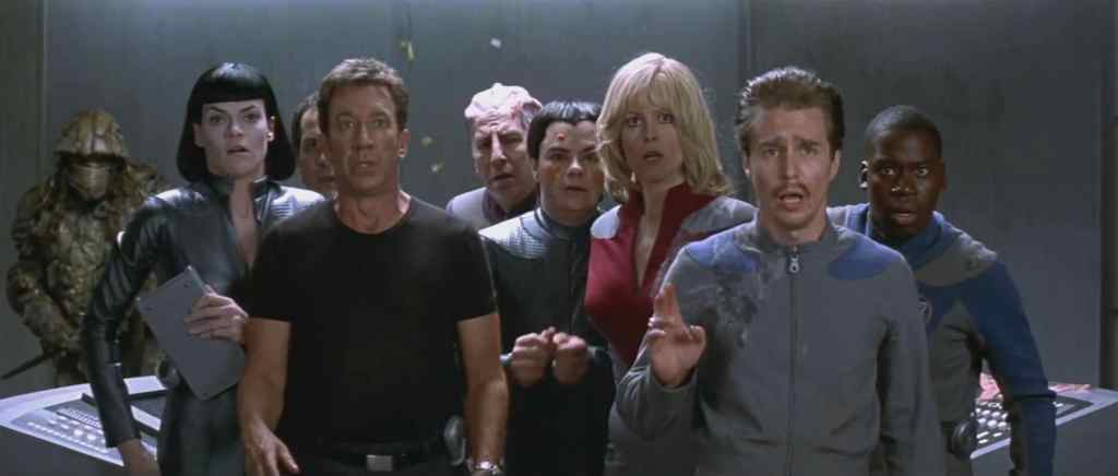 Galaxy Quest crew