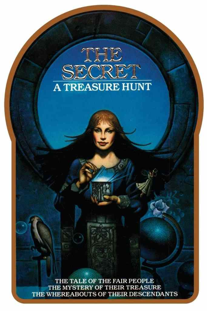 The Secret a treasure hunt cover