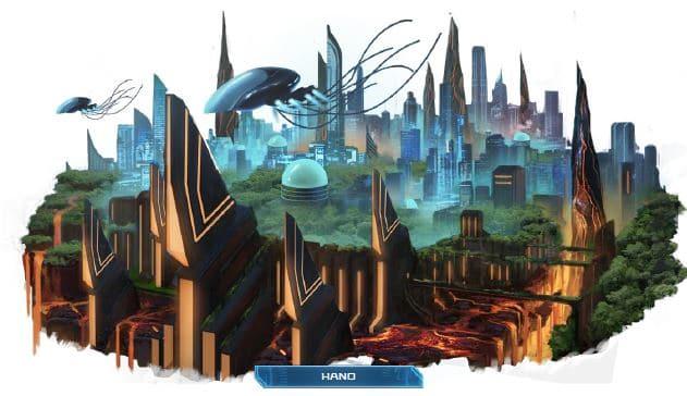 Hano skyline from Starfinder Near Space