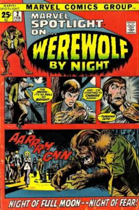werewolf by night marvel spotlight