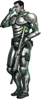 Paizo Starfinder Soldier Guard