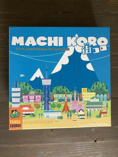 Machi Koro Board Game Box