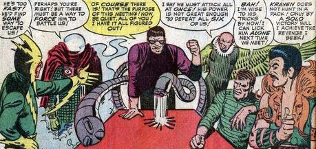 Original Sinister Six Spider-Man