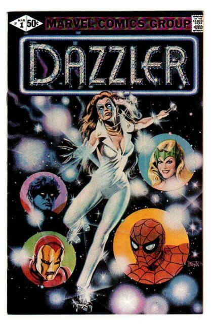 Dazzler #1 cover