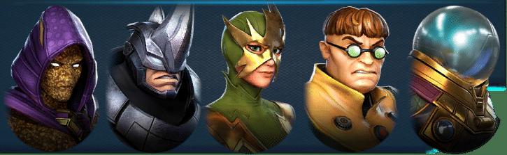 Marvel Strike Force Sinister Six 1