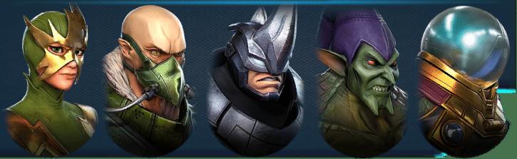 Marvel Strike Force Sinister Six 4