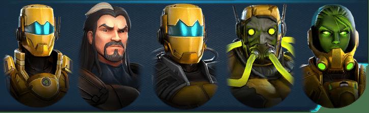 Marvel Strike Force AIM