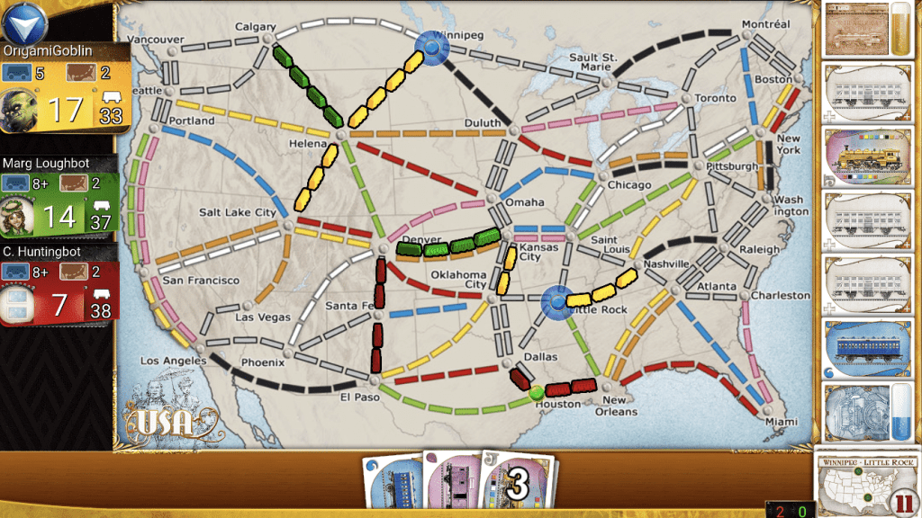 Board Game Apps Ticket to Ride