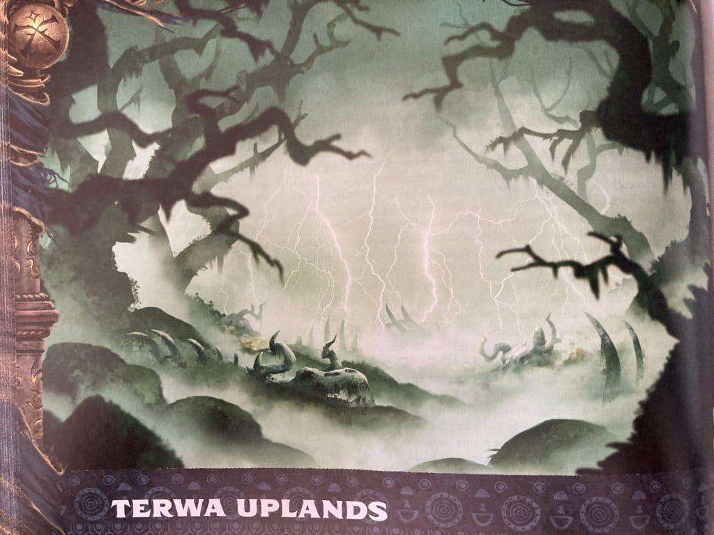 The Terwa Uplands in Paizo's Lost Omens the Mwangi Expanse