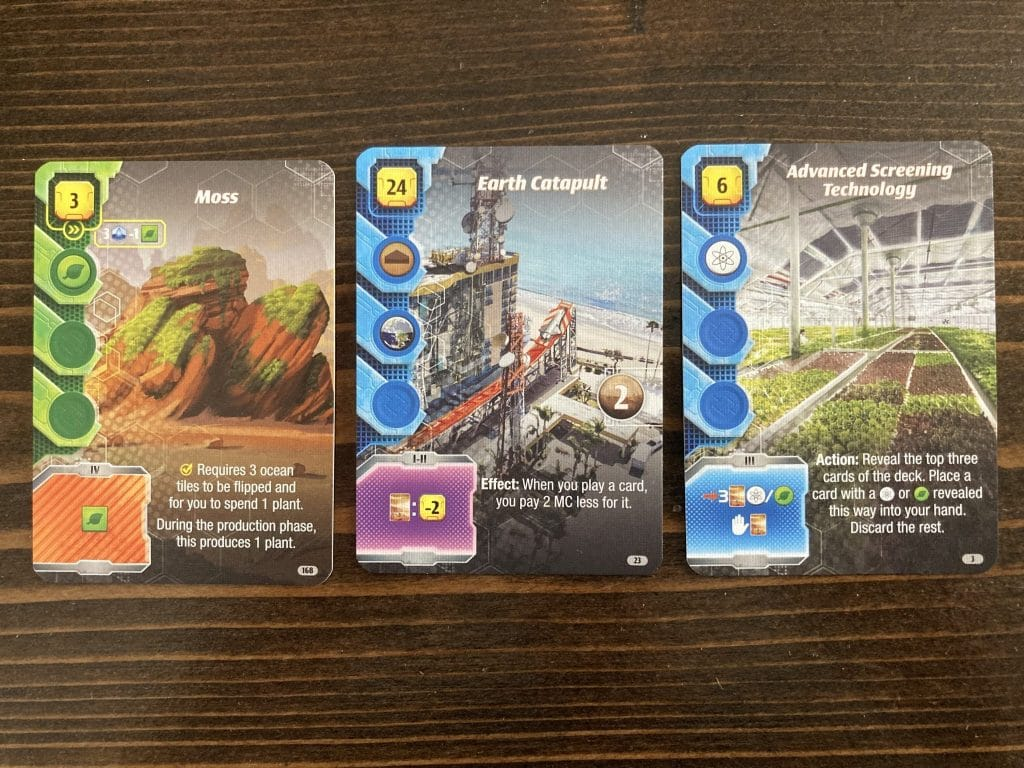 Terraforming Mars Ares Expedition Cards