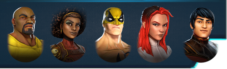 Heroes for Hire Marvel Strike Force