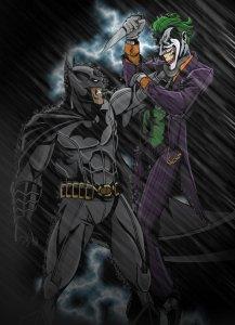 batman_vs__joker_in_color_by_timelessunknown-d5f9m9p