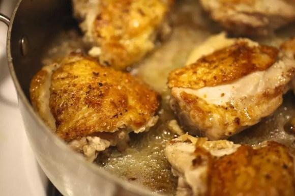 Chicken Baked with Creamy Mushroom Sauce