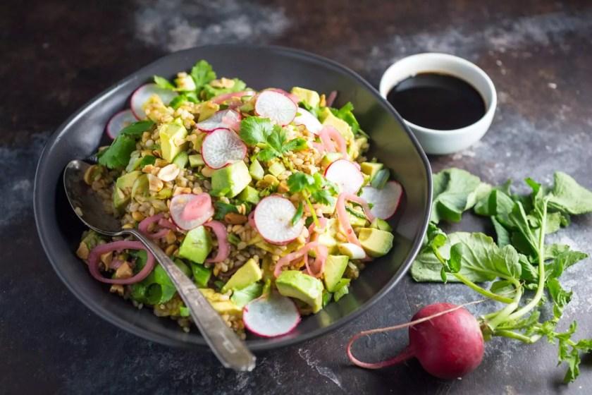 Teriyaki Brown Rice Salad