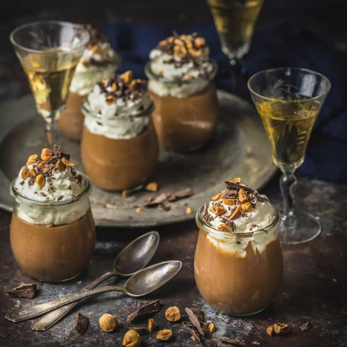 Chocolate Frangelico Mousse