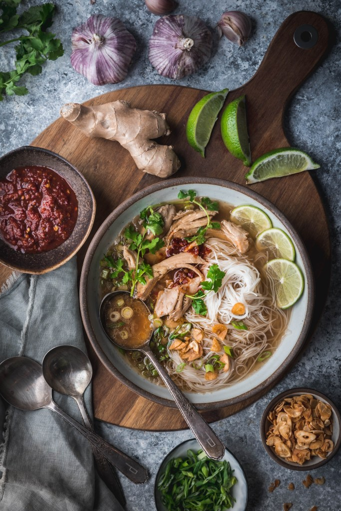 Chicken Ginger Noodle Soup