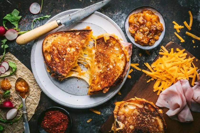 Mango Chutney Grilled Cheese