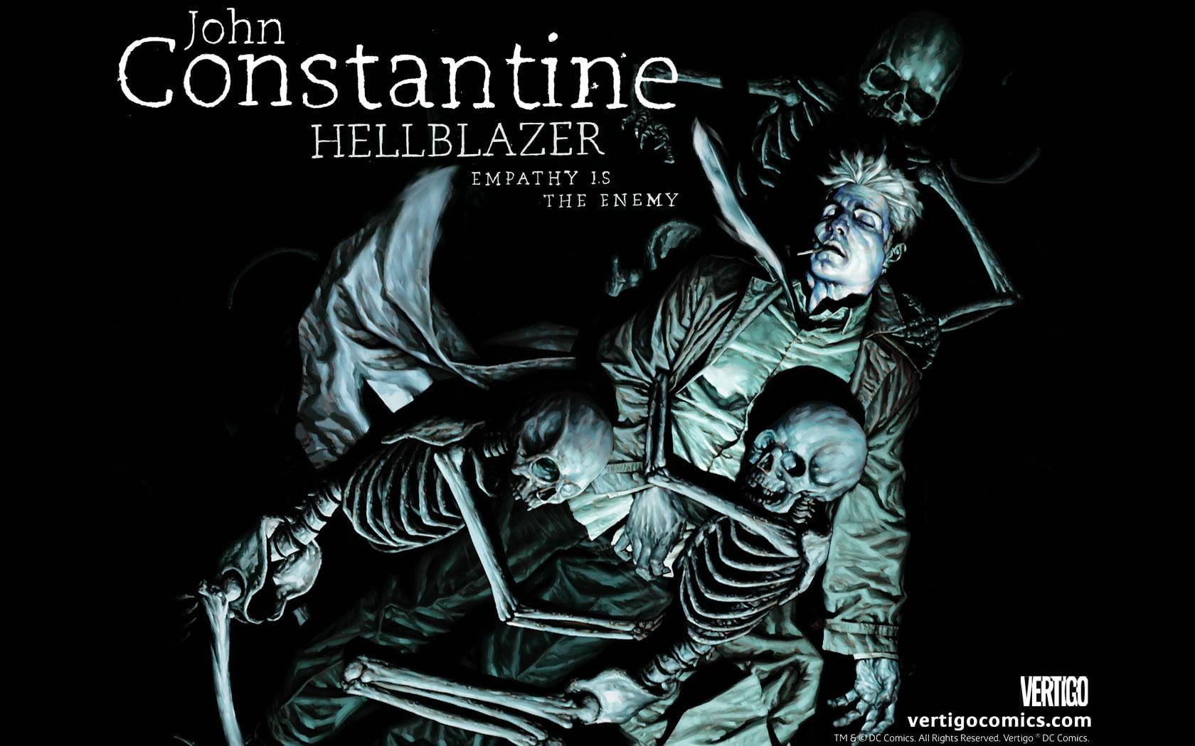 Constantine Hellblazer Comic Art John Wallpaper Nerd Tatuado