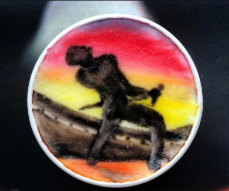 Freddie Mercury- credito instagram @baristabrian