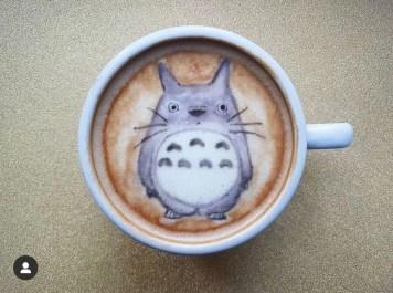 Meu Amigo Totoro- credito instagram @baristabrian