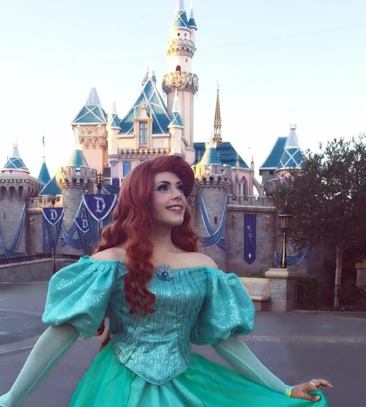 Cosplay-de-Princesa-Disney