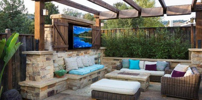 best outdoor tv enclosure cover