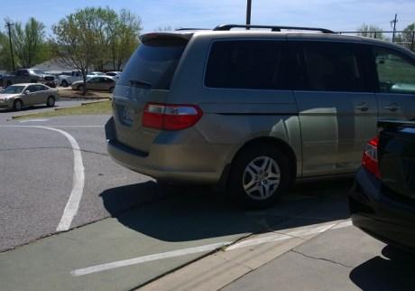 Also not a parking spot