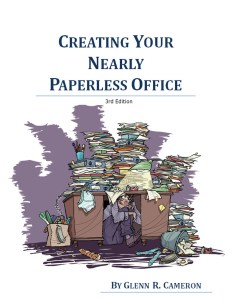 CreatingYourNearlyPaperlessOffice-3rdEdition-Book Cover