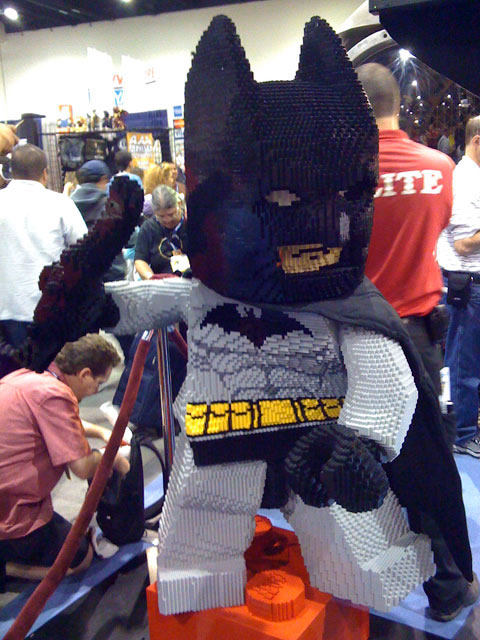 San Diego Comic Con 2008, LEGO BATMAN DISPLAY MADE OUT OF LEGOS