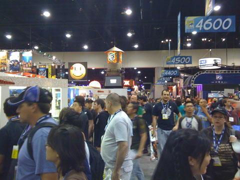 San Diego Comic Con 2008, main exhibit hall