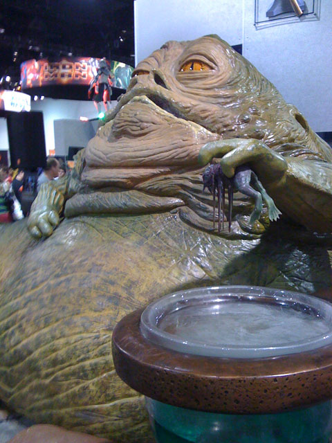 San Diego Comic Con 2008, Jabba the Hutt