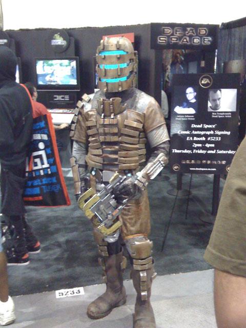 San Diego Comic Con 2008, Dead Space video game