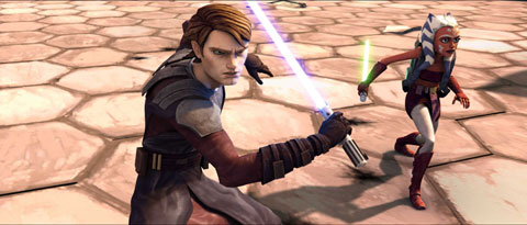 Star Wars The Clone Wars Lucasfilm Anakin Skywalker Ahsoka Tano Warner Bros