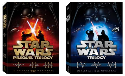 Star Wars Prequel Trilogy Classic Trilogy DVD boxed sets, Lucasfilm, THX, 20th Century Fox