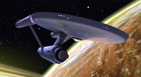 Remastered Star Trek Starship Enterprise CBS Paramount