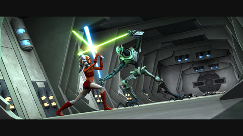 Star Wars The Clone Wars on Cartoon Network