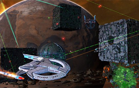 Star Trek Online screenshot by Cryptic Studios