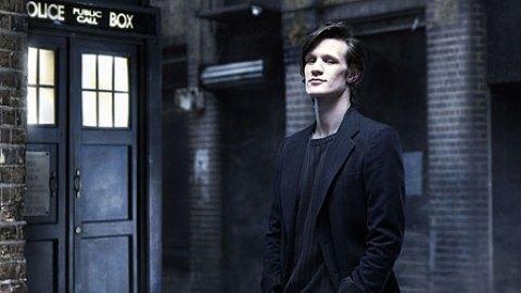 BBC Matt Smith enters the TARDIS as Doctor Who